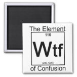 Element WTF Square Magnet