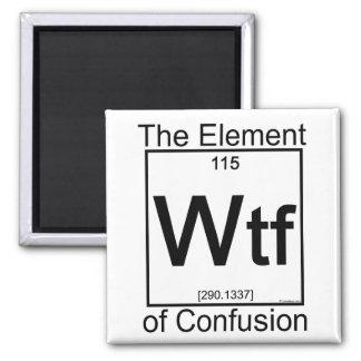 Element WTF Square Magnet