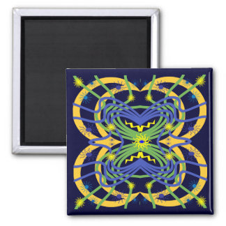 Elemental Abstract Magnet