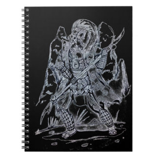 Elemental Air Samurai Notebook