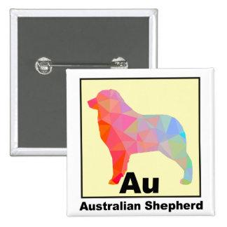 Elemental Aussie 15 Cm Square Badge
