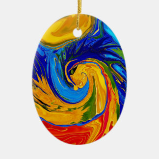 Elemental Dragon Ornaments