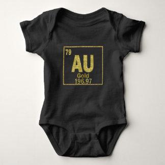 Elemental Gold Baby Bodysuit