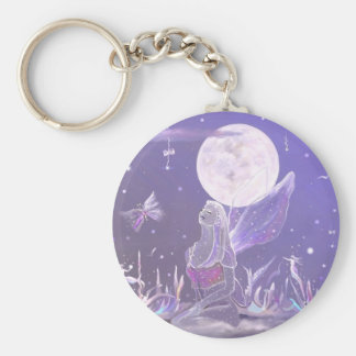 Elemental Kingdom, key-chain Basic Round Button Key Ring