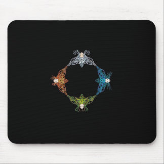 Elemental Knots Mouse Pad
