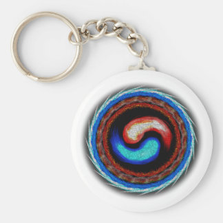 Elemental Korea Basic Round Button Key Ring
