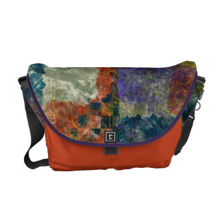 Elemental Liaisons Abstract Bag Commuter Bags