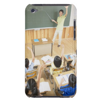 Elementary school students at school iPod touch cover