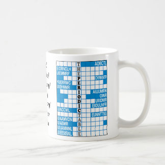 Elementary Word Scramble Basic White Mug