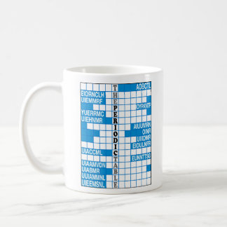 Elementary Word Scramble Coffee Mug