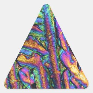 Elements/Bismuth chloride under the microscope Sticker