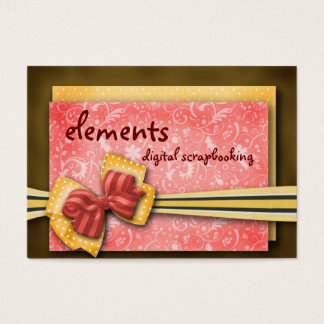 elements... business card