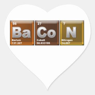 Elements of BaCoN Heart Sticker