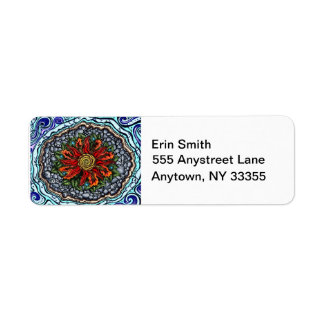 Elements of Creation (color) address labels