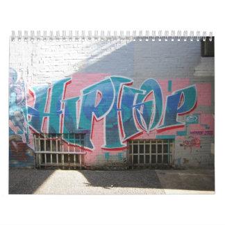 Elements of Hip Hop Culture Calendars