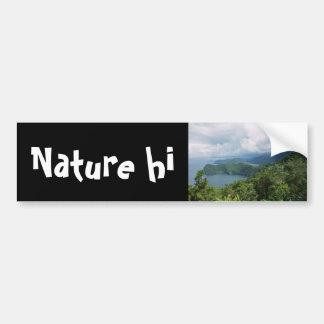 elements of paradise car bumper sticker