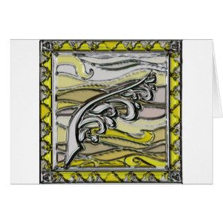 Elements series- Air symbol Greeting Cards