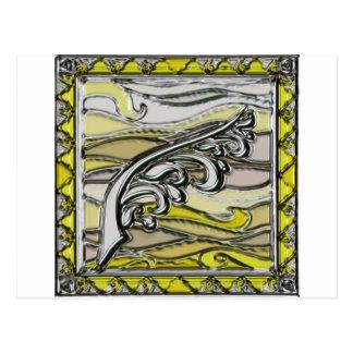 Elements series- Air symbol Post Card