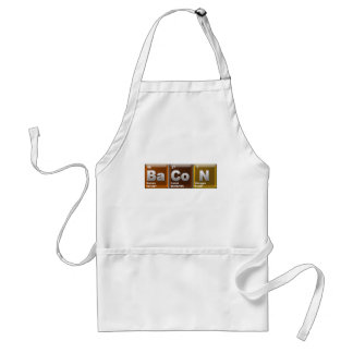 "Elements spelling ""BACON"" Standard Apron"