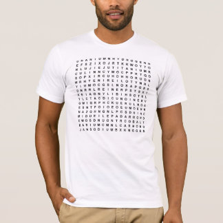 Elements Word Find T-Shirt