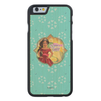 Elena & Isabel | A Hero To Us All Carved® Maple iPhone 6 Slim Case