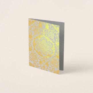 Eleonora Di Toledo - Metallic Gold Foil Foil Card