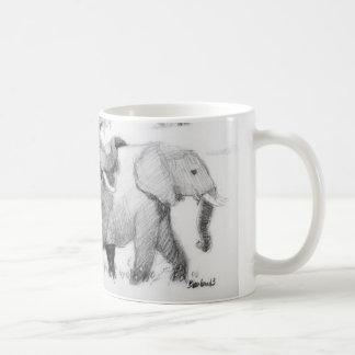 Elepephants Wraparound Coffee Mug