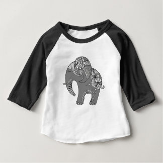 Elephant 4 baby T-Shirt