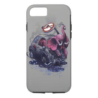 elephant_accident_humor iPhone 8/7 case