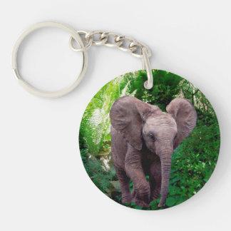 Elephant Acrylic Keychain