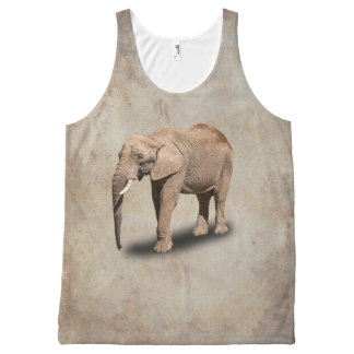 ELEPHANT All-Over PRINT TANK TOP