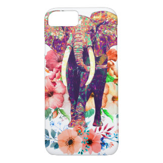Elephant and Flower phone case