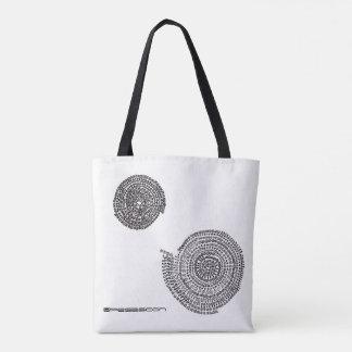 Elephant and prime and arithmetic Mandara Tote Bag