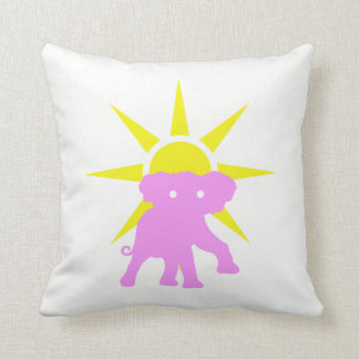 Elephant and Sun Cushion
