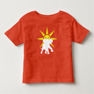 Elephant and Sun Toddler T-Shirt