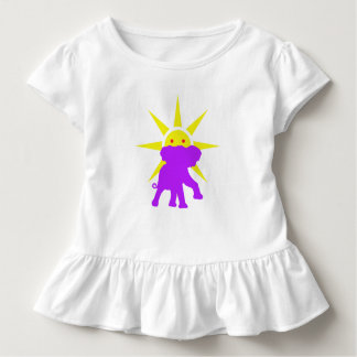 Elephant and Sun Toddler T-Shirt