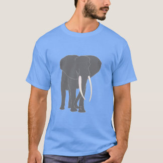 Elephant Animals Cartoon Art T-Shirt