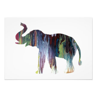 Elephant Art Photo Print