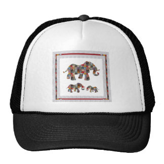 ELEPHANT Artistic Collection Patches NVN478 b Cap