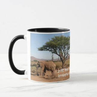 Elephant at Samburu National Reserve Mug