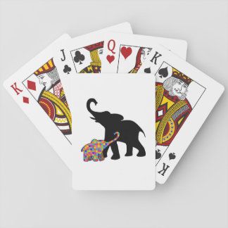 Elephant Autism Awareness Support Playing Cards