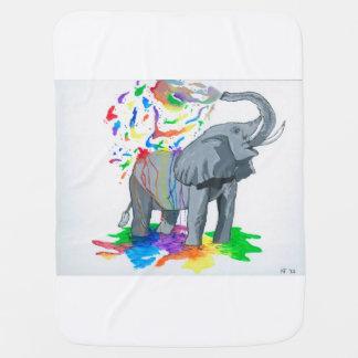Elephant Baby Blanket