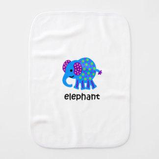Elephant Baby Burp Cloths