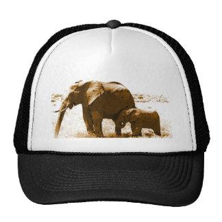 Elephant & Baby Elephant Cap