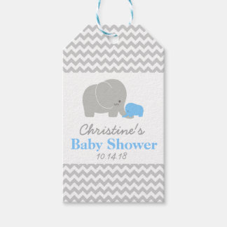 Elephant Baby Shower Favor Tags|Pack of Gift Tags