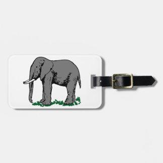 Elephant Bag Tag