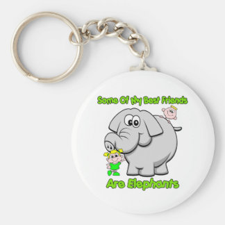 Elephant Best Friends Key Chain