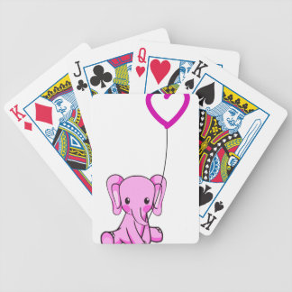 elephant bicycle playing cards