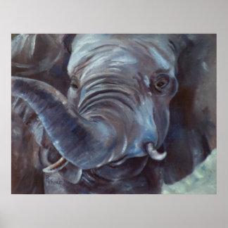 Elephant Big Boy Poster