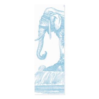 Elephant Buddha Quote Business Card